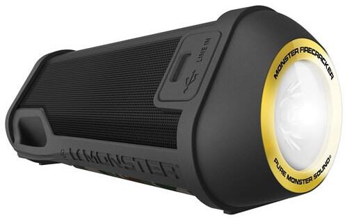 Monster SuperStar Firecracker Bluetooth, černá