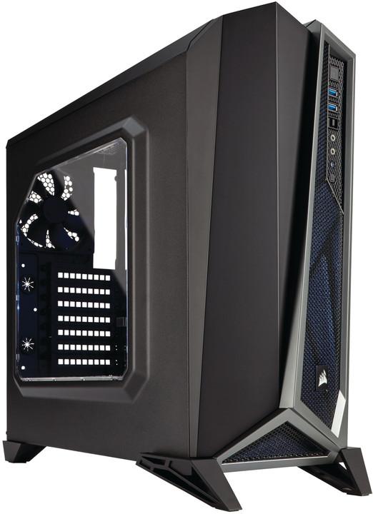 Corsair Carbide SPEC-ALPHA, černo-stříbrná