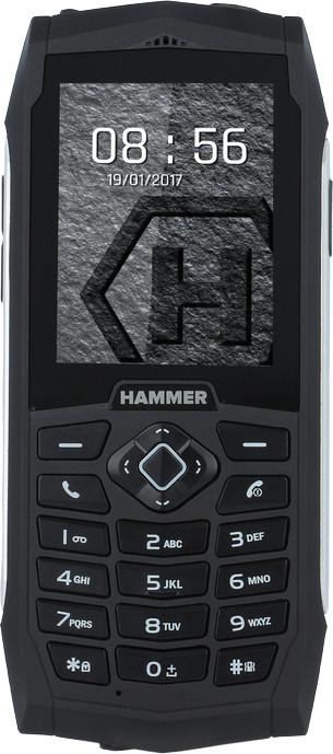 myPhone HAMMER 3 Plus, stříbrný