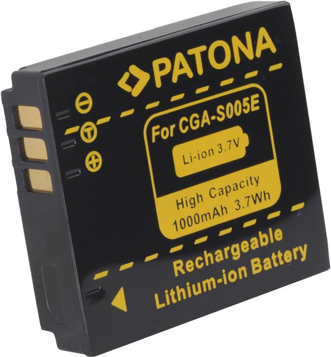 Patona baterie pro Panasonic CGA-S005 1000mAh