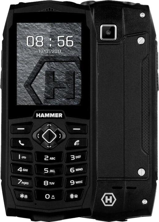 myPhone HAMMER 3 Plus, černá
