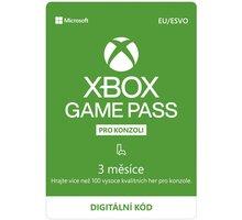Microsoft Xbox Game Pass 3 měsíce - elektronicky 500 Kč sleva na příští nákup nad 4 999 Kč (1× na objednávku)