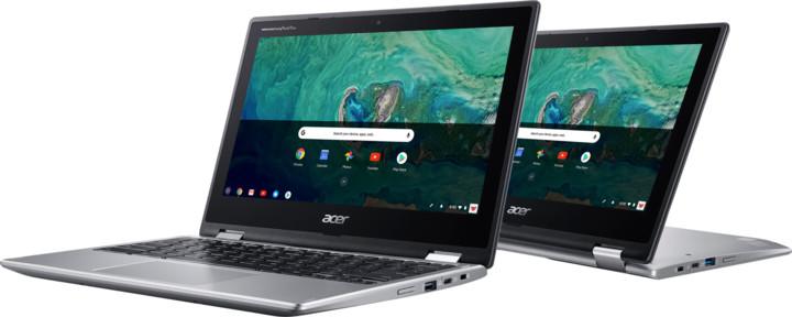 Acer Chromebook Spin 11 (CP311-1HN-C3YV), stříbrná