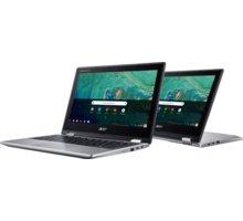 Acer Chromebook Spin 11 (CP311-1HN-C3YV), stříbrná  + Garance bleskového servisu s Acerem + Servisní pohotovost – Vylepšený servis PC a NTB ZDARMA