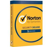 Symantec Norton Security Deluxe CZ 1 uživatel, 5 zařízení, 3 roky - 21384874