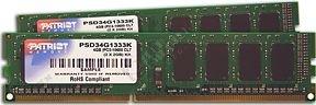 Patriot Signature Line 4GB (2x2GB) DDR3 1333