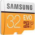 Samsung Micro SDHC 32GB EVO UHS-I + SD adaptér