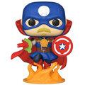 Figurka Funko POP! Marvel: Infinity Warps - Soldier Supreme Glow in the Dark