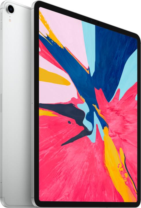 """Apple iPad Pro Wi-Fi + Cellular, 12.9"""" 2018, 1TB, stříbrná"""