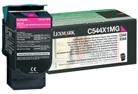 Lexmark C544X1MG - magenta