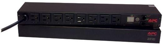 APC rack PDU, přepínatelné, 1U, 15A, 100/120V, (8)5-15