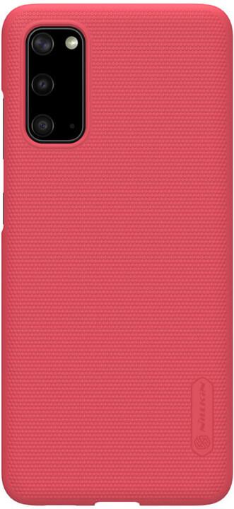 Nillkin Super Frosted zadní kryt pro Samsung Galaxy S20 Ultra, červená