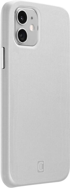 CellularLine ochranný kryt Elite pro Apple iPhone 12 mini, PU kůže, bílá