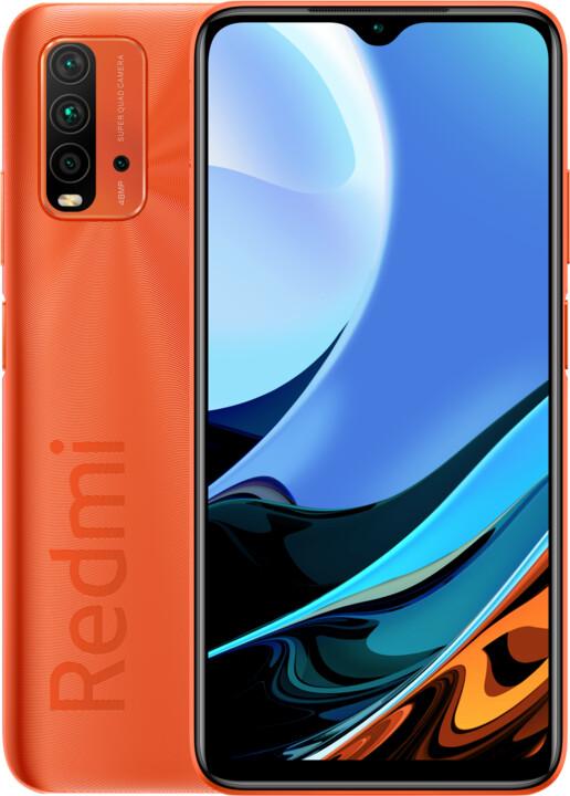 Xiaomi Redmi 9T, 4GB/64GB, Sunrise Orange