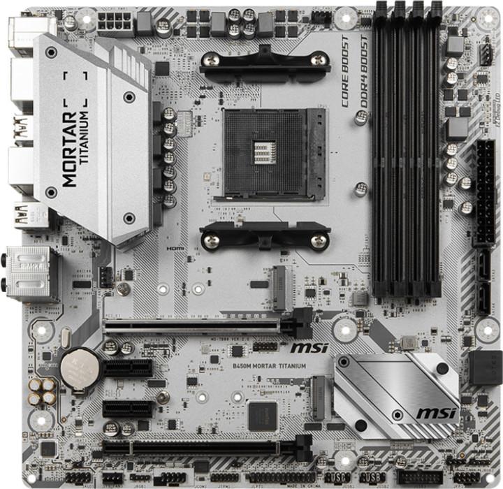 MSI B450M MORTAR TITANIUM - AMD B450