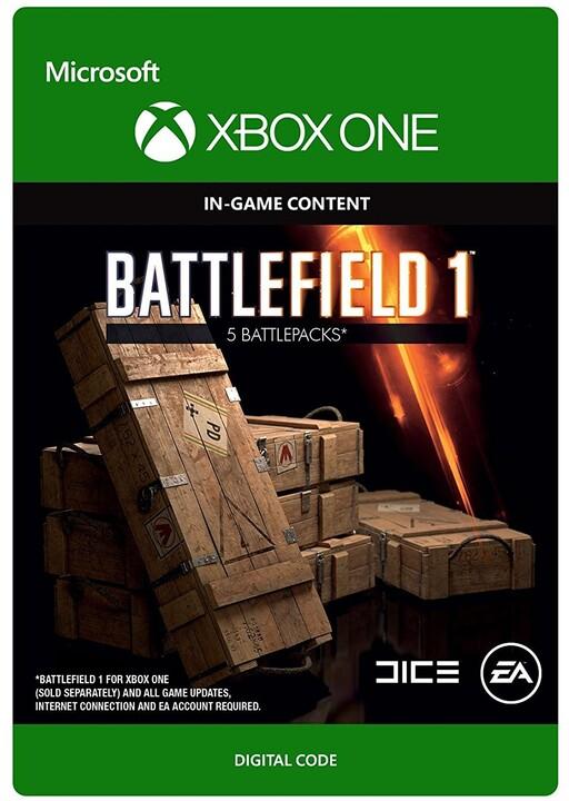 Battlefield 1 - Battlepack X5 (Xbox ONE) - elektronicky