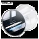 USAMS CD55 skleněný bezdrátový dobíječ (EU Blister), bílá