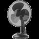 Nedis stolní ventilátor, černá Kuki TV na 2 měsíce zdarma