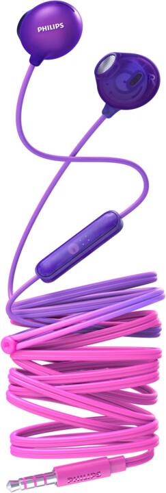 Philips SHE2305, růžová/fialová