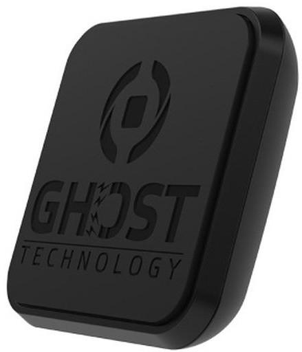 CELLY GHOSTFIX Univerzální magnetický držák pro mobilní telefony, adhezivní povrch, černý