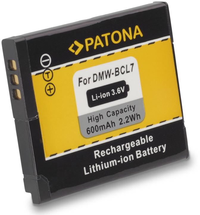Patona baterie pro Panasonic DMW-BCL7E 600mAh 3,6V Li-Ion