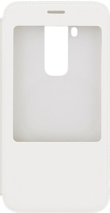 Huawei pouzdro S-View pro G8 (EU Blister), bílá