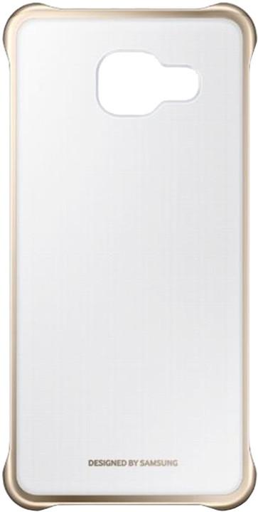 Samsung Clear Cover pro Galaxy A5 2016, zlatý