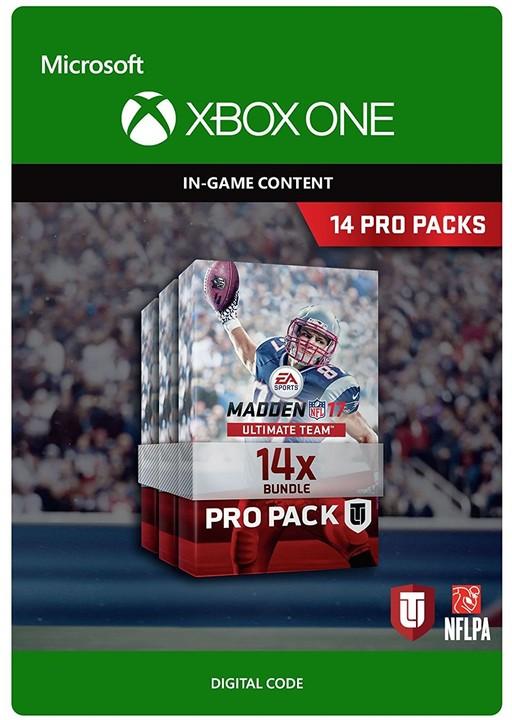 Madden NFL 17 - 14 Pro Packs (Xbox ONE) - elektronicky