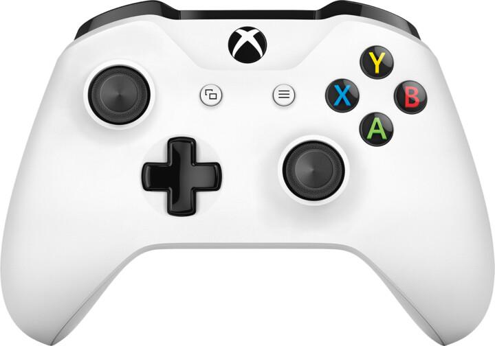 Xbox ONE S Bezdrátový ovladač, bílý (PC, Xbox ONE)