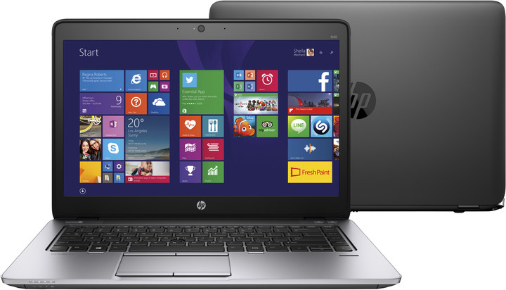 HP EliteBook 840 G2, černá