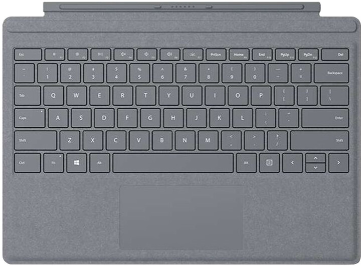 Microsoft Surface Go Type Cover (Platinum), CZ&SK