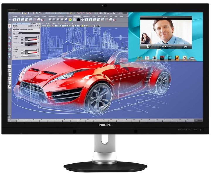 Philips Brilliance 272P4QPJKEB - LED monitor 27""