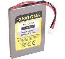 Patona baterie pro herní konzoli Sony PS3 650mAh Li-lon 3,7V PT6508