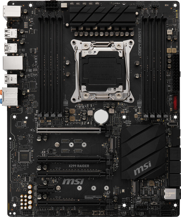 MSI X299 RAIDER - Intel X299