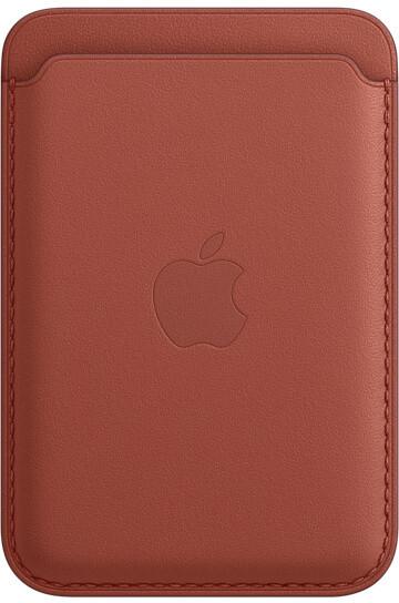 Apple kožená peněženka s MagSafe pro iPhone, Arizona - hnědá