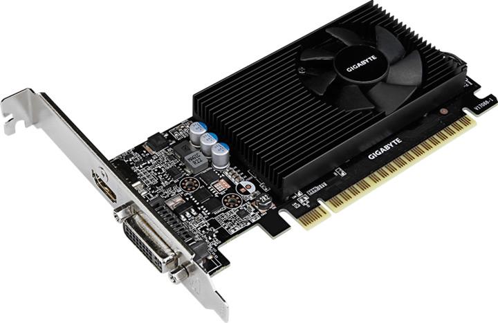 GIGABYTE GeForce GT730, 2GB GDDR5