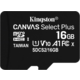 Kingston Micro SDHC Canvas Select Plus 16GB 100MB/s UHS-I