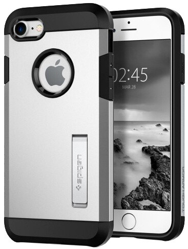 Spigen Tough Armor 2 iPhone 7/8, satin silver