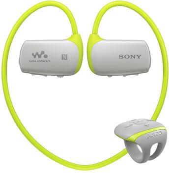 Sony NWZ-WS613, 4GB, žlutá