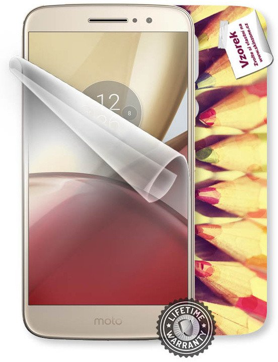 ScreenShield fólie na displej + skin voucher (vč. popl. za dopr.) pro LENOVO Moto M XT1663