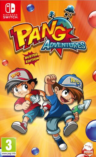 Pang Adventures - Buster Edition (SWITCH)
