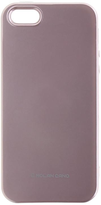 Molan Cano Jelly TPU Pouzdro pro Huawei Mate 10 Lite, růžově zlatá