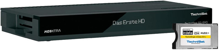 TechniSat TechniStar S3 ISIO, černá s modulem TechniCrypt Irdeto CI+
