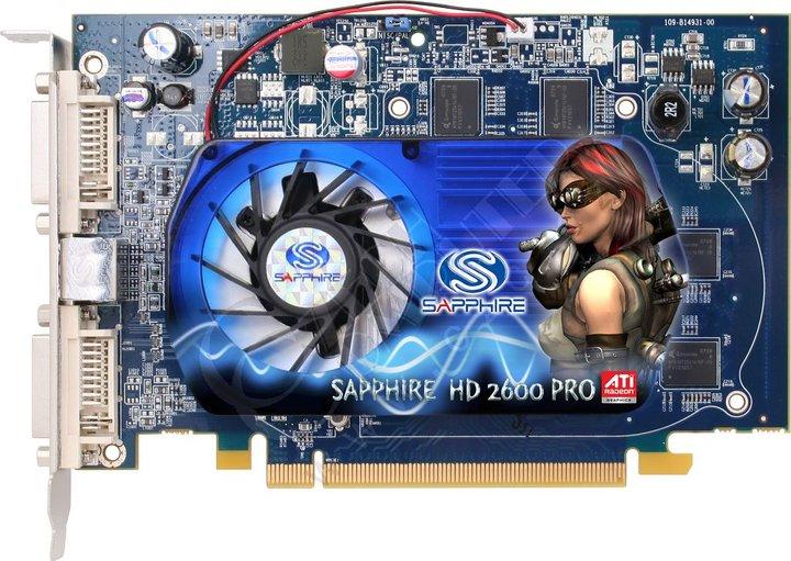 Sapphire HD 2600 Pro OC 256MB, PCI-E