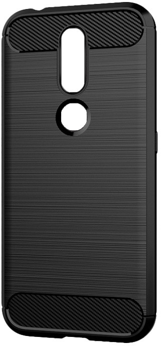 EPICO CARBON pouzdro pro Nokia 4.2, černé