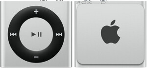 Apple iPod shuffle - 2GB, stříbrná, 4th gen.