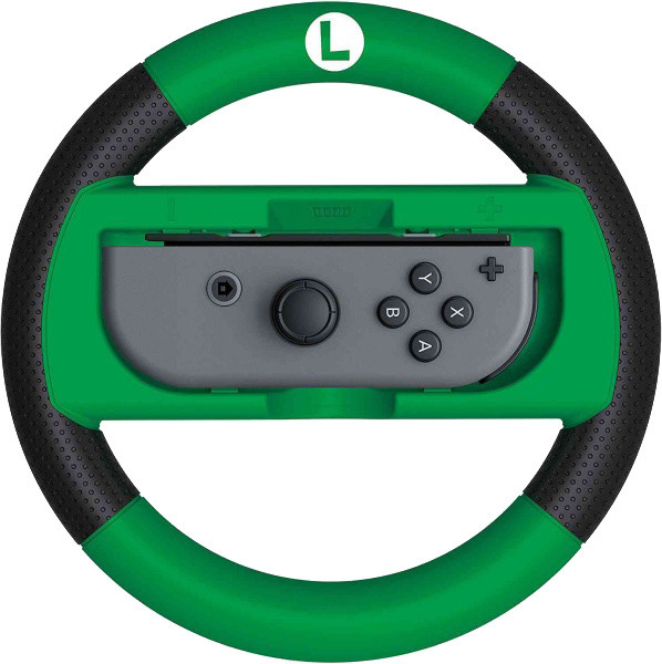 Hori Joy-Con Wheel Deluxe - Luigi (SWITCH)