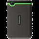 Transcend StoreJet 25M3 - 500GB, šedozelená
