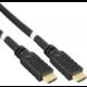 PremiumCord HDMI High Speed with Ether.4K@60Hz kabel se zesilovačem,15m