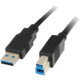 PremiumCord USB 3.0, A-B - 3m